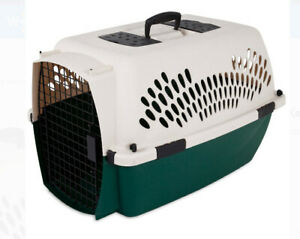 Portable Pet Dog Cat Crate Kennel Travel Carrier Bed Home Secure door cover