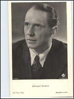 Porträt Actor Film TV Kino Bühne Film. Foto. Verlag Schauspieler Wilhelm Strienz