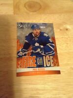 Phil Kessel Maple Leafs 2013-2014 Panini Select Fire On Ice #FS-35