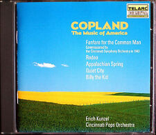 KUNZEL: COPLAND Appalachian Spring Billy the Kid Rodeo Fanfare Quiet City TELARC
