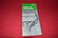 John Deere 480 Mower & Conditioner Haybine Dealers Brochure NTIA
