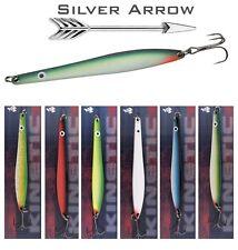 Hornfisch , Meerforelle u. Lachs - Blinker Silver Arrow 6 Farben Set