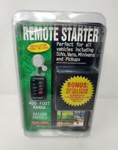 BULLDOG SECURITY Remote Starter, Keyless Entry & Remote RS112