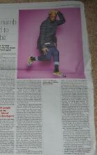 Will.i.am  - 1 page from the Times newspaper aug 4th  b