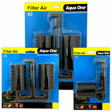 Aqua One Filter Air 15 25 60 Aeration Sponge Aquarium Fish Tank Needs Air Pump