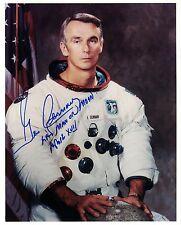 NASA Apollo 17 Astronaut  Gene Cernan Signed Photo White Space Suit WSS