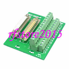 Adapter DB25 25 Pin D-SUB male/female header Terminal Breakout PCB Board 2 Row