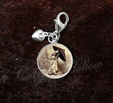 925 Sterling Silver Charm Geisha Japanese Culture