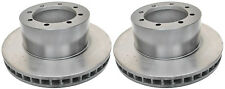 Rear Brake Discs 1 Pair 99-07 Ford E450 Econoline Super Duty