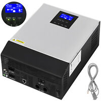 3KVA 24V MPPT Off-Grid Pure Sine Wave Solar Inverter 2400W AC Charger Portable