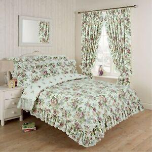 Vantona Victoria Duvet Set, Bedspread & Curtains - Sold Separately