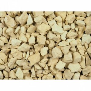 20-50MM COTSWOLD BUFF CREAM CHIPPINGS DECORATIVE AGGREGATE GRAVEL SLATE 25kg BAG