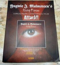 YNGWIE J. MALMSTEEN ~ Attack !! ~  Japan Guitar Tab - RISING FORCE -