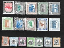SUDAN Sc 98-114 NH issue of 1951 - LOCAL LIFE - LONG SET. Sc $100