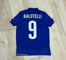 ITALY NATIONAL TEAM 2014 #9 BALOTELLI FOOTBALL SOCCER SHIRT JERSEY PUMA BOYS