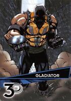 GLADIATOR / Marvel 3D (Upper Deck 2015) BASE Trading Card #47