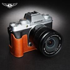 TP Handmade Fujifilm XT200 Camera Half Case Genuine Leather Retro Cover Insert
