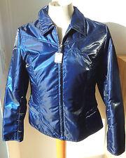 Cavalier leichte Damen Reitjacke, Gr. 42, blau glänzend, Jacke