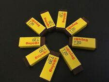 Vintage#9x Rotring eraser rubber T20  Gomme  Made in Germany# [C]