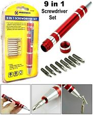 9 IN 1 Precision screwdriver bit set - for small electronics glasses & jewellery