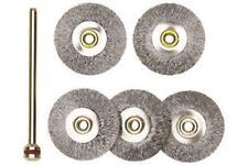 PROXXON Steel Wire Wheels With Arbor FREE Delivery