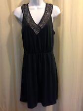 GAP Jeweled neckline knit Patio SUN Dress Women's Size SMALL