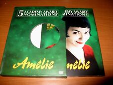 Amelie 2001 Dvd 2-Disc Set Slipcover Case Version Foreign France