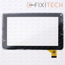 Schwarz Touchscreen Digitizer Komp. mit DENVER KINDERTABLET TAQ-70262K YELLOW