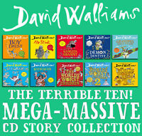 David Walliams Terrible 10! Mega-Massive CD Story Collection. Latest audiobook.