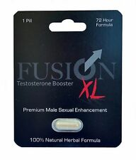 Fusion XL Male Enhancement Pill Erection Sexual Pleasure Enhancer. 1 Sample Pill