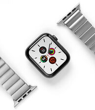 Apple Watch Series 6/5/4/SE (42,44mm) Metal α Band Strap Ringke Stainless Steel