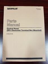 CATERPILLAR SR-4 Generator Terminal Box Mounted Control Panel Parts Manual