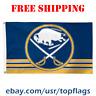 Deluxe Buffalo Sabres Logo Flag Banner 3x5 ft 2019 NHL Hockey Fan Gift NEW
