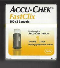 ACCU-CHEK FastClix 100+2 Lancets 1-Box of 102 Exp 2023 free shipping