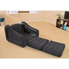 INTEX Inflatable Pull-Out Chair--Lounge Chair AND TWIN SIZED MATTRESS! - 68565EP