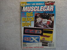 Muscle Car Review 1990 December 442, GSX, Judge, GTO, Buick, Boss 302, Chevelle