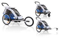 2014 XLC Mono BS-C01 Fahrradanhänger Kinderanhänger blau/silber