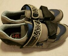 Lake Mountain Biking Cycling Bike Shoes Mens 6 Womens 7 - 7.5 Eu 38 Lace Up EUC!