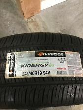 1 New 245 40 19 Hankook Kinergy GT Tire