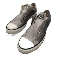 Converse Chuck Taylor All Star Unisex Sneakers 151213C Gray W 10.5 M 8.5 New