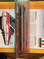 """Del Prado #20 N Gauge Italy FS ETR 480 """"Pendolino"""" Model loco and Mag/card No 20"""