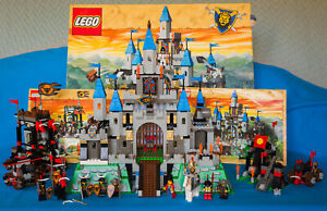 Lego Knights Kingdom System 6098/6091 + Bull's Attack System 6096  + Free Dragon