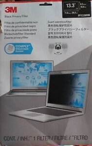 """3M Trade 13.3"""" Widescreen (16:9) Laptop Privacy Filter Thin And Touch-Sensitive"""