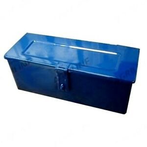 SMALL BLUE TOOLBOX FOR FORD 2000 2600 3000 3600 4000 4600 5000 TRACTORS.