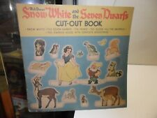 1938 W.D.E. Snow White And The Seven Dwarfs Cut Out Book