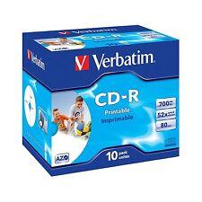 CD-R per l'archiviazione di dati informatici da articoli nella confezione 10 52x