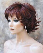 Wonderful EveryDay Short N Sassy Style wig full bangs Auburn Mix NLLx 33-130