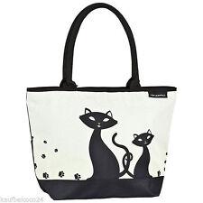 Damentaschen aus Synthetik mit Tiermuster und Reißverschluss