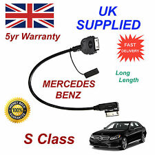 Mercedes Benz S CLASS MMI A0018279204 iPhone 3GS 4 4S iPod Audio Cable long