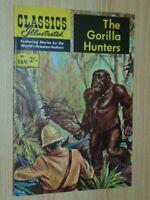 Classics Illustrated #149. The Gorilla Hunters Aust/UK Edition V Good/Fine 5.0